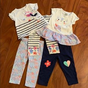 Mix and match outfits 12 months
